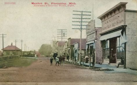 Downtown Pinconning and MC Depot